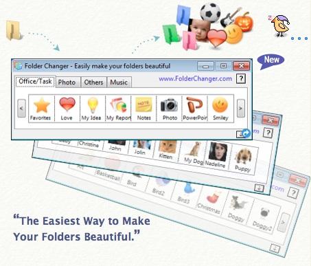 Windows 8 FolderChanger full